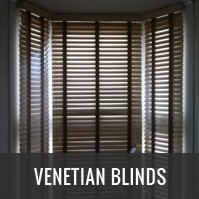 Wooden and Aluminium Venetian Blinds London