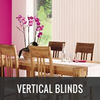 Custom Made Vertical Blinds London